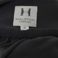 Halston Heritage Camicetta scollatura cascata