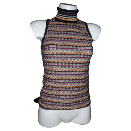 Missoni Top with roll collar