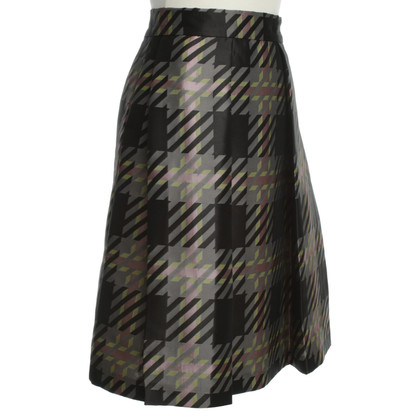 Max & Co skirt with Houndstooth pattern
