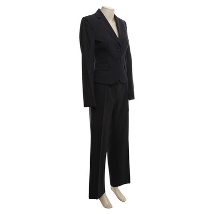 Hugo Boss Suit scheerwol in blauw