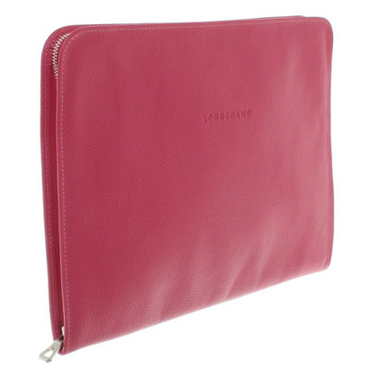 Longchamp Laptoptasche in Fuchsia