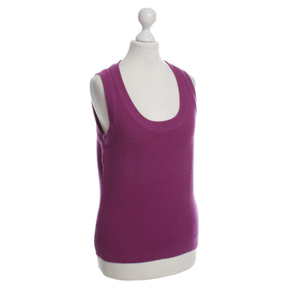 Strenesse Knit vests with transverse rib pattern