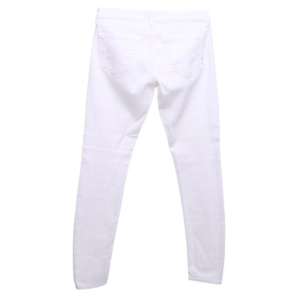 Mother Jeans in white
