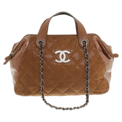 Chanel Borsa in marrone