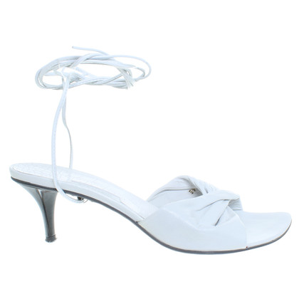 Other Designer ViC MATiE - lace-up sandals in white