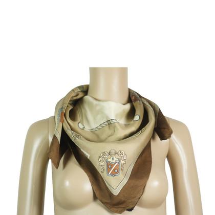 Céline Zijden sjaal met vervoer motief