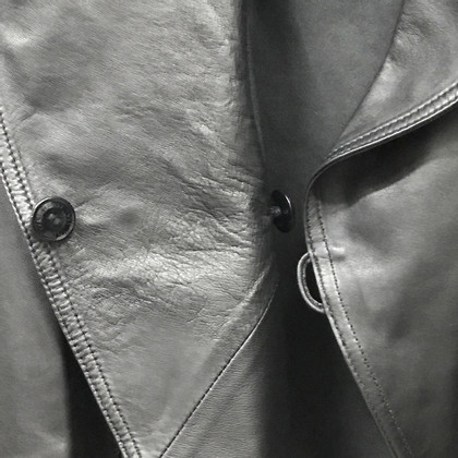 Airfield Leather jacket in black