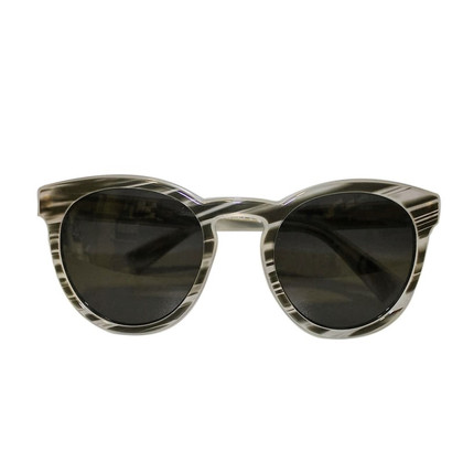 Dolce & Gabbana Striped sunglasses