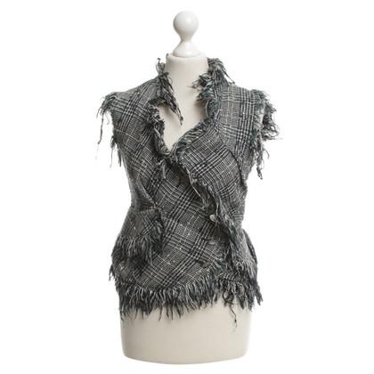 Vivienne Westwood Mehrfarbige Tweed-Weste