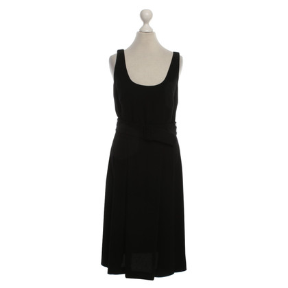 Agnès B. Dress in black