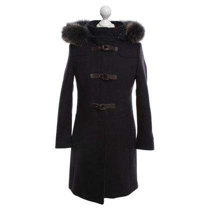 Mabrun Coat with real fur trim