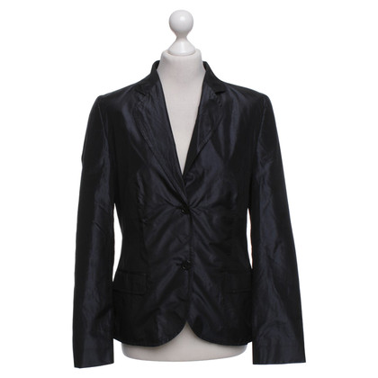 Hugo Boss Seidenblazer in Anthrazit