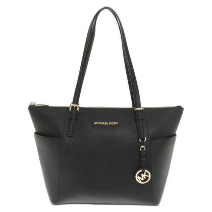 "Michael Kors ""Jet Set Item"" in zwart"