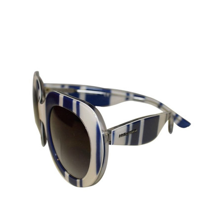 Dolce & Gabbana Sunglasses in white/blue