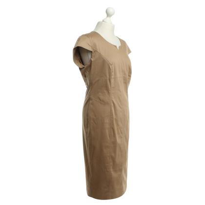 Marina Rinaldi Ocher colored sheath dress