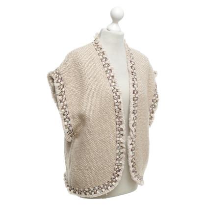Hoss Intropia Vest with fringe decor