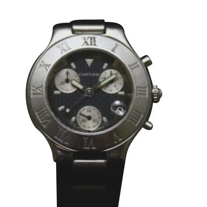"""Cartier """"21 Chronoscaph"""""""