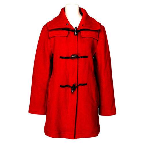 Burberry Giacca Cappotto in Rosso - Second hand Burberry Giacca ... 7ee4b04fefb7