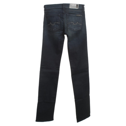 7 For All Mankind Jeans in dark blue