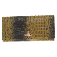 Vivienne Westwood Wallet with crocodile embossing