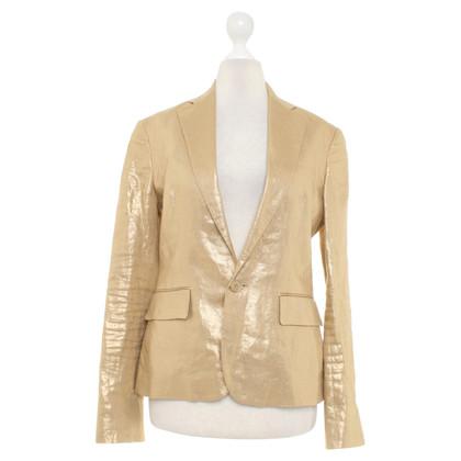 Ralph Lauren Black Label Gold-colored blazer