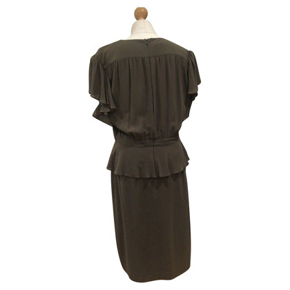 Escada Silk dress in taupe