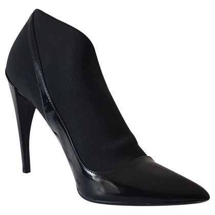 Christian Dior Patent leather booties