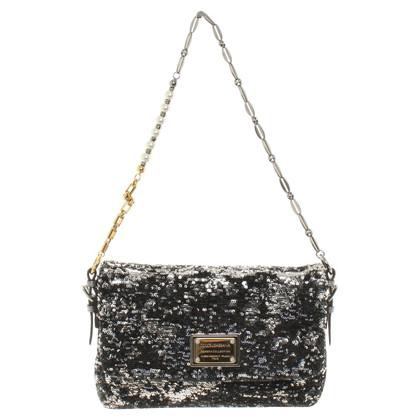 Dolce & Gabbana Handtasche mit Pailletten