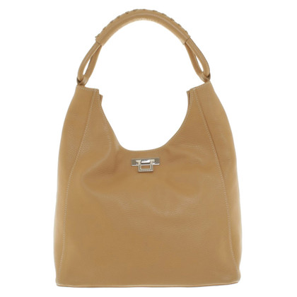Unützer Handbag in cognac brown