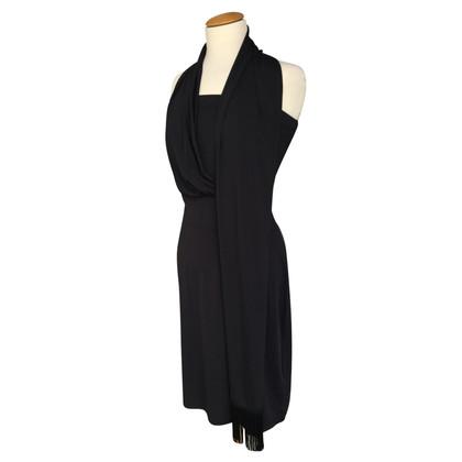 Hugo Boss Kleid mit integriertem Schal