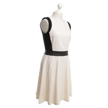 DKNY Dress in beige / black