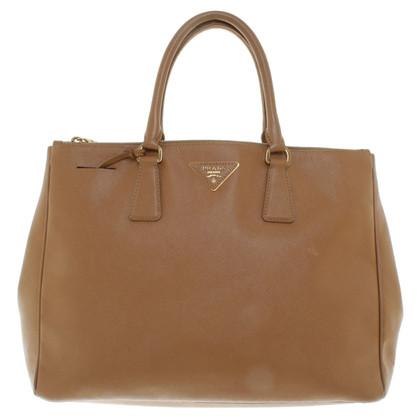 Prada Handbag in camel brown