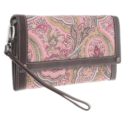 Escada clutch in multicolor