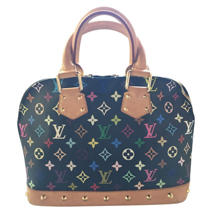 """Louis Vuitton """"Alma MM Monogram Multicolore Noir"""""""