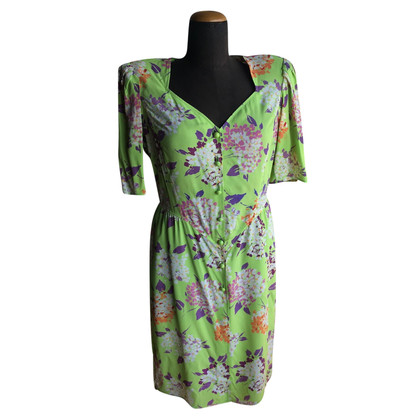 Emanuel Ungaro Silk dress with flowers
