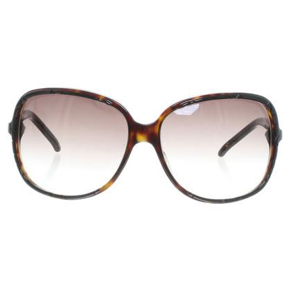 Christian Dior Sonnenbrille in Horn-Optik