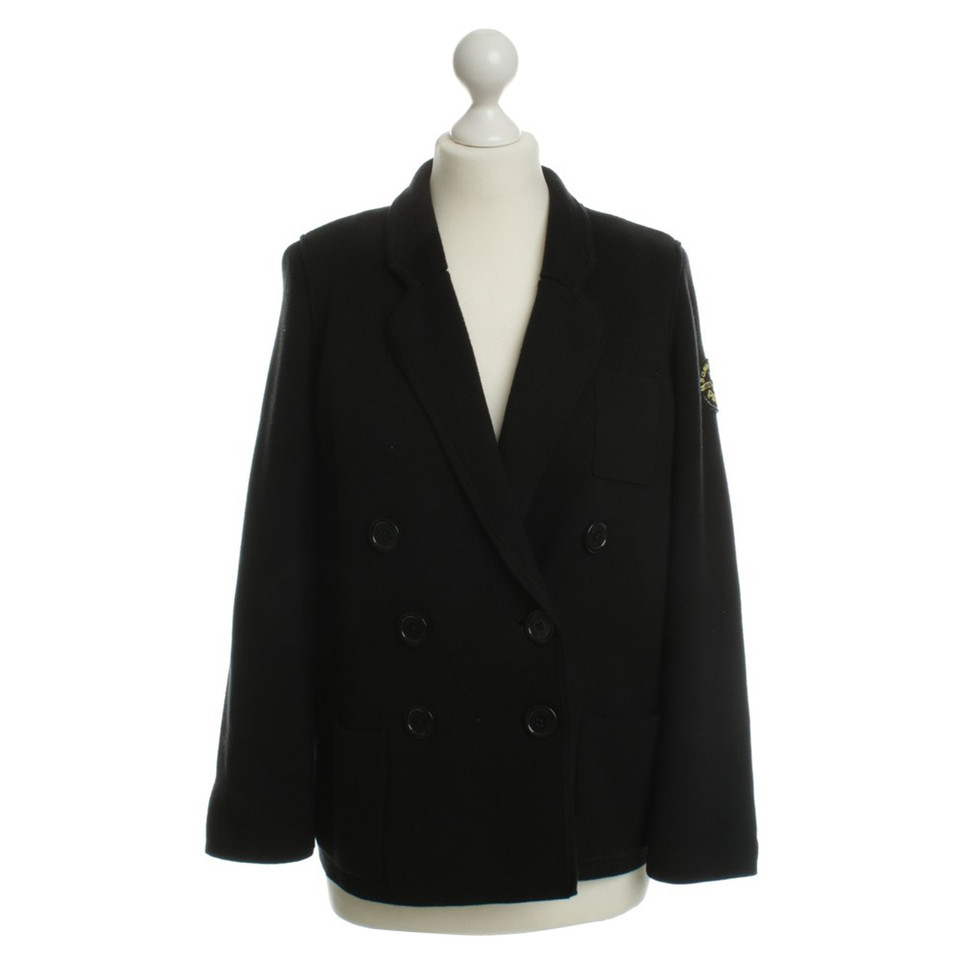 Sonia Rykiel for H&M Knit Blazer in black