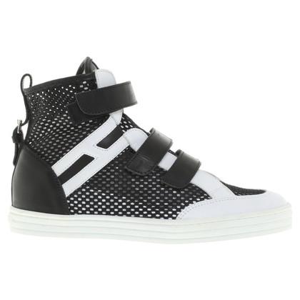 Hogan Sneakers in zwart / White
