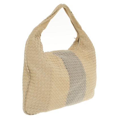 "Bottega Veneta ""Maxi Veneta Bag"" in beige"