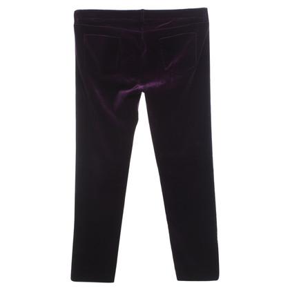 Victoria Beckham Pantaloni in velluto