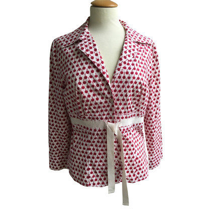 Moschino Jacket with cherry print