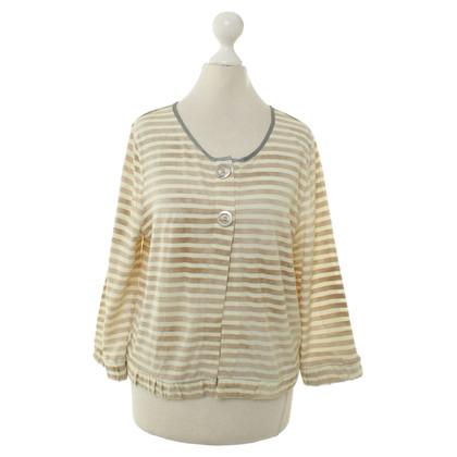 Schumacher Striped jacket in beige/Brown