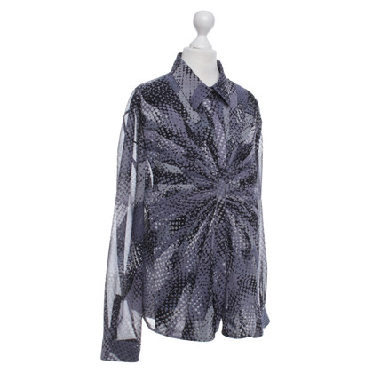 Armani Blouse with dots pattern