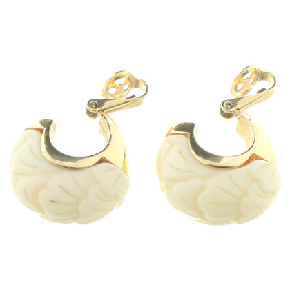 Givenchy Clip earrings in cream