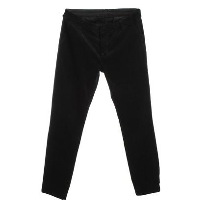 J Brand pantaloni di velluto in nero