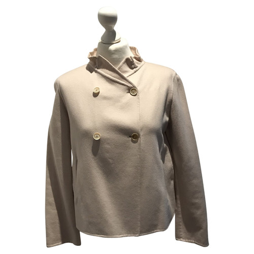 low priced c57a6 4ba97 Jil Sander Giacca di cashmere / cappotto in nudo - Second ...