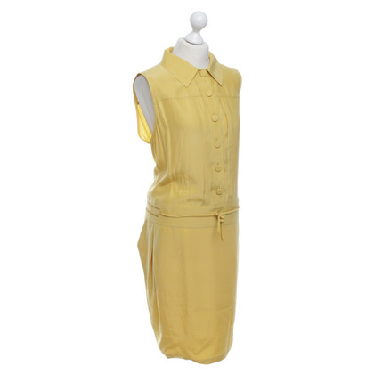Bally Silk dress in yellow