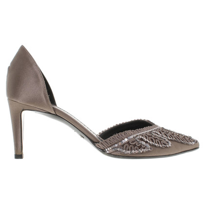 Giorgio Armani pumps met applicatie