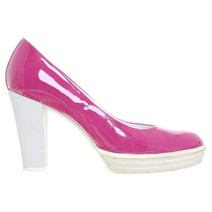 Hogan Vernice pumps in rosa
