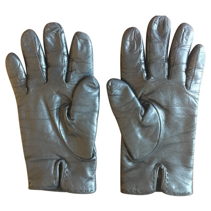 Gucci Leather gloves with cashmere lining